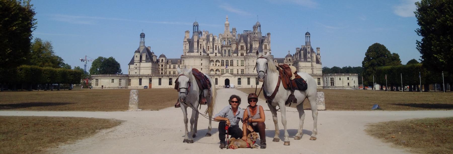 Discover France on horseback riding